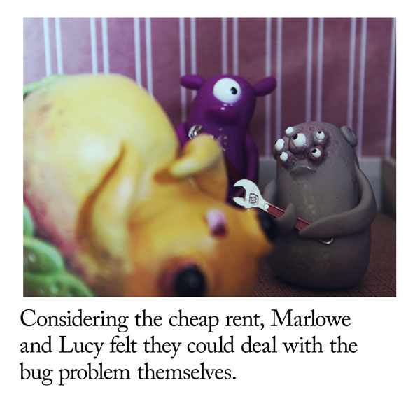 Bug Problems I Signed The Lease